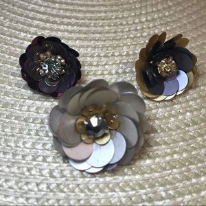 Chloe + Isabel Jewelry - Floral Pin Set - set of 3